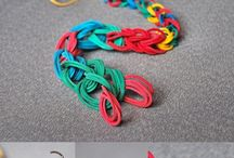 Jewelry - rubber band ideas / by Rebecca Bower