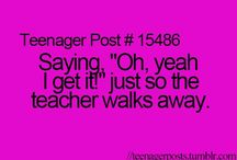 Teenager Posts / Exactly what the board name is- Teenager posts!