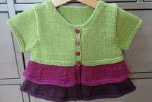 Knitting for littlies
