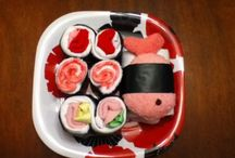 Baby shower sushi gift / collection picture of Baby shower sushi gift