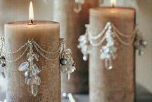 όμορφα κεριά