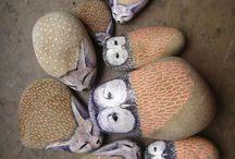 painted rocks/ malowane kamyczki