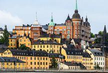 Södermalm - Stockholm, Schweden / In Södermalm ist Stockholm ganz bei sich: Das Altstadtquartier wirkt gemütlich, vertraut und friedvoll – und ist gleichzeitig voller Leben und guter Energien.
