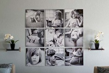 Wall Designs / Ideas on how to hang your pictures