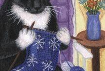 knitting and art (tricot e arte)