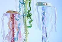 Ocean crafts / sea crafts for children