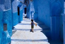 Shades of blue morocco / ......