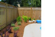 Poolside landscaping projects / Beautifully landscaped gardens surrounding pools