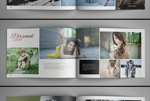 Photography portfolio design