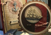 Cards/Crafts - Nautical/Beach Inspiration / by Jolene Smith-Dunphy