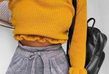amarillo para otoño