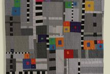 Modern Quilts / Modern quilts intrigue me with their design, color, setting and quilting!