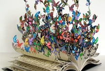 book arts and inspiration  / everything from beautiful original bindings to contemporary book sculptures