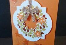 autumn cards / by Kelly Stewart