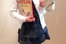 Disfraz personaje libro