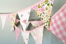 Tillies bunting / Will make 3 sizes if possible,  mini, medium & large