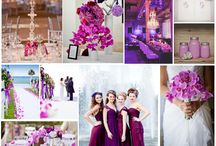 Color Trend 2014 Radiant Orchid - inspiracje dekoracji weselnych