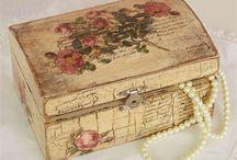 BOX róża