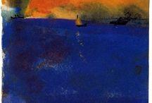 Emil Nolde blue sea