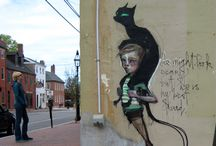"cats - ubiquitous creatures - street art / ""If you have to ask, you'll never know. If you know, you need only ask."""