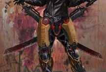 Character design: Cyberpunk