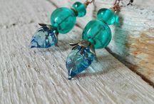 Earrings by GhirigoriGlass