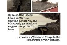 Art Instruction-Acrylics
