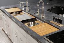 The Galley - Ideal Kitchen Workstation / www.galleycollection.com