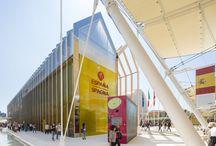 Padiglione Spagna - Expo 2015 / Padiglione Spagna - impermeabilizzazioni con prodotti POLYGLASS (guaine bituminose)