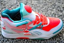 High heels & sneakers