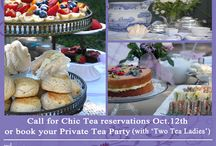 """Chic English Tea / Our British innkeeper/baker is offering private, customized English Tea at the Lavender Inn in Ojai.  Her sense of style and of course her delicious food is absolutely """"lovely""""!"""