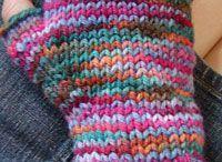 pletené bezprsťáky