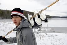 Pond Hockey - Photography / Playing hockey outdoors on the ice. Photography inspiration.