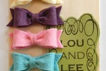 buttons and bows