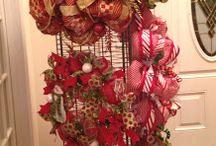 Wreath displays / by Susan Morgan