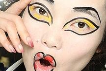 Viviene Westwood Fashion Show 2016 Makeup