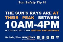Sun Safety / How to keep protecting while playing in the summer sun / by KINeSYS Sunscreen