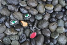 DIY Stone Painting / DIY Stone Painting and Art Ideas #DIY #Stone #rock #Painting #art