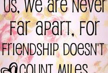 Best friend board / All the cute best friend stuff we need to read, hear or do.  / by Savanah Martin