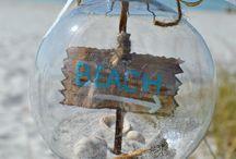 Seaside Christmas / Sea glass