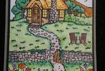 "Cards - ""Cozy Cottage"""
