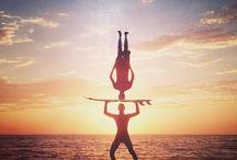 Yoga für Surfer / Surf's up & ab auf die Matte: Yoga & Surfen verbindet so einiges.
