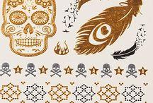 Flash Tattoos / Körperschmuck