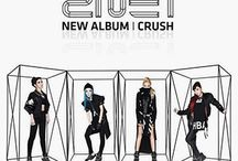 2NE1 / 2NE1 (Korean: 투애니원, IPA: [tʰu.ɛ.ni.wʌn]) is a four-member South Korean girl group formed by YG Entertainment in 2009 and is now the most famous girl group in the country. The band consists of CL, Minzy, Dara, and Park Bom.