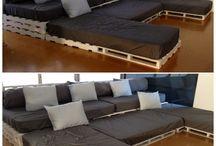 Sofa in Media Room
