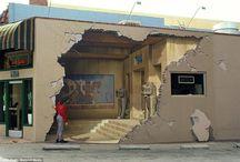 Murals | Trompe L'oeil / Beautiful art for your walls.