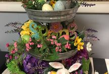 Easter table deor