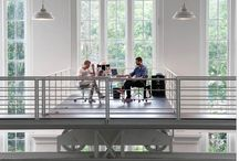 Interiors - Studio and Workspace / The kinds of places where I'd love to come to work.
