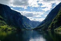 Norwegia fiord / piekne miejsca