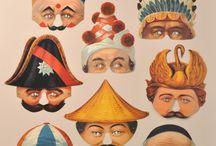 Paper masks / ideas for paper masks